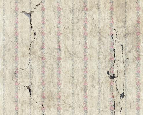 cracks on wall